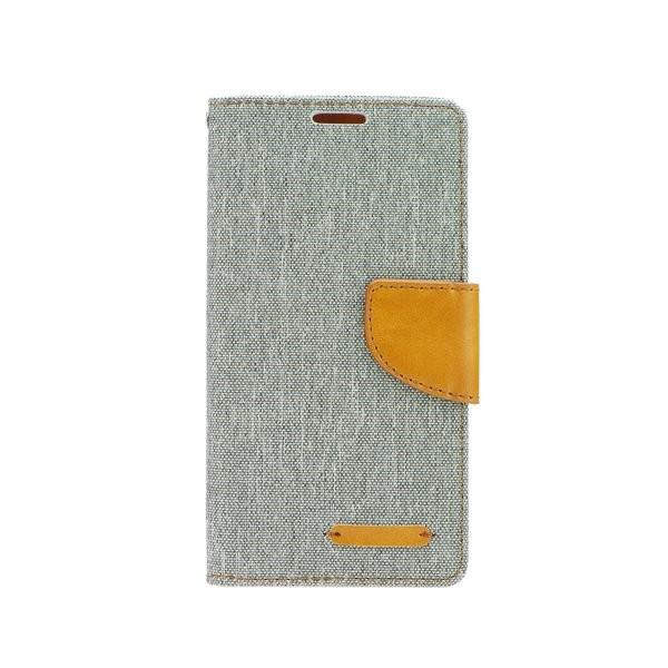 Canvas Diary flipové pouzdro SAMSUNG Galaxy J1 grey