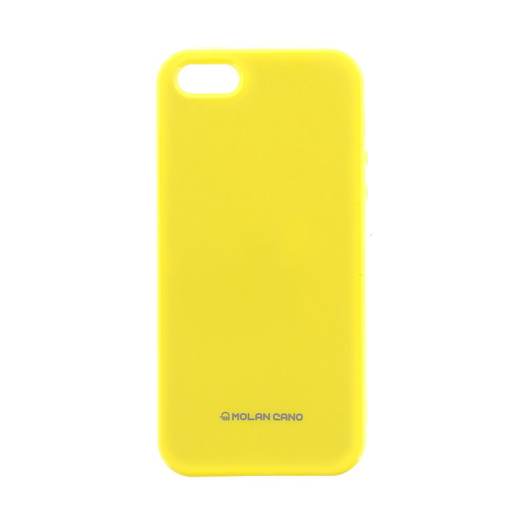 Molan Cano Jelly kryt pro Huawei Y6 2017 yellow
