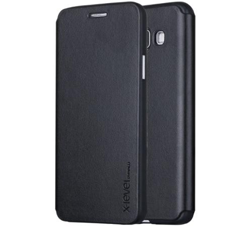 XLEVEL FIB Color pouzdro flip Sony Xperia XA1 black