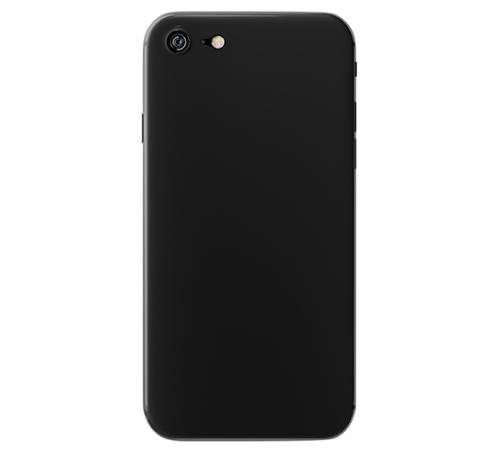 Zadní kryt 3mk NaturalCase Apple iPhone 8, transparentní černá