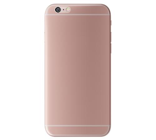 Zadní kryt 3mk NaturalCase Apple iPhone 6 Plus, 6s Plus, transparentní růžovo-zlatá