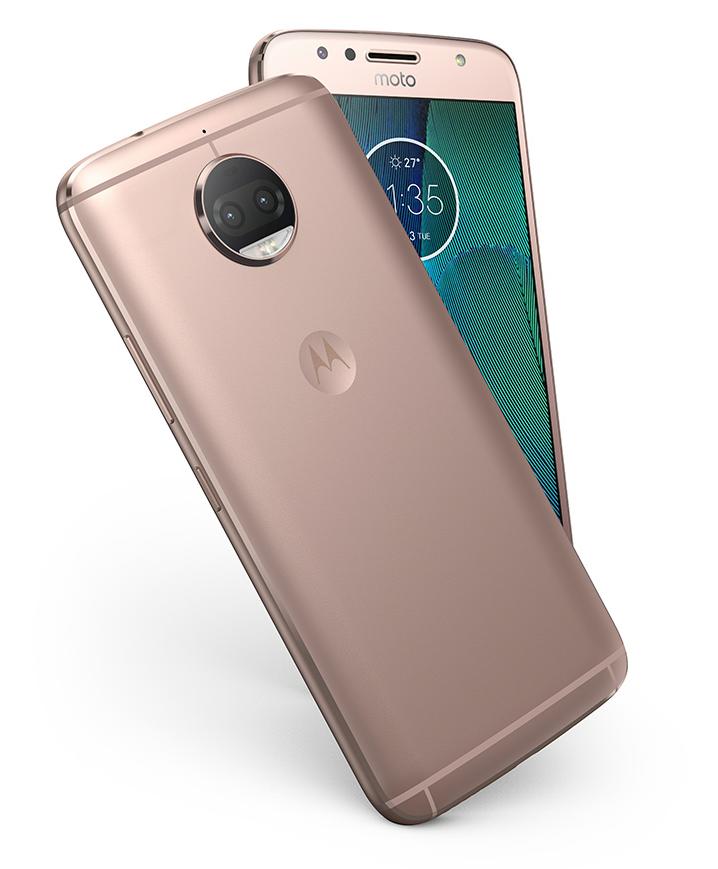 Mobilní telefon Lenovo Moto G5s Plus Gold