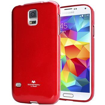 Pouzdro Mercury Jelly Case pro Sony Xperia E4g červené