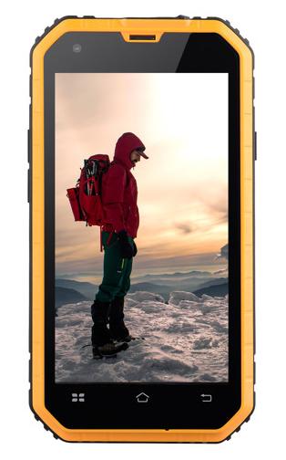 Mobilní telefon Aligator RX460 eXtremo Black / Yellow