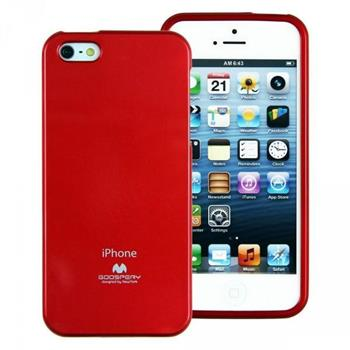 Pouzdro Mercury Jelly Case pro Samsung Galaxy S II červené