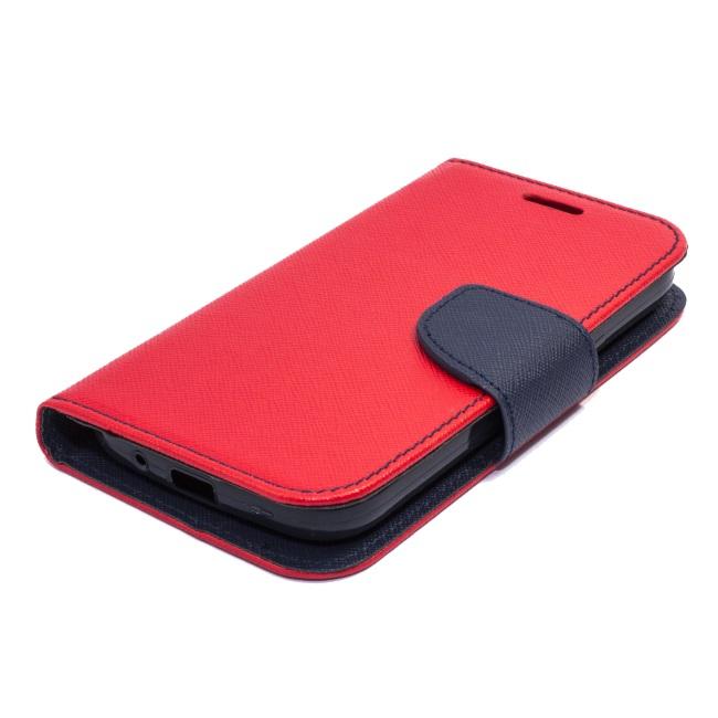 Fancy Diary flipové pouzdro Samsung Galaxy S6 Edge+ red/navy