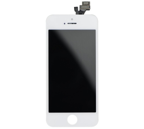 LCD + dotyková deska pro Apple iPhone 5S (High Quality AAA+), White