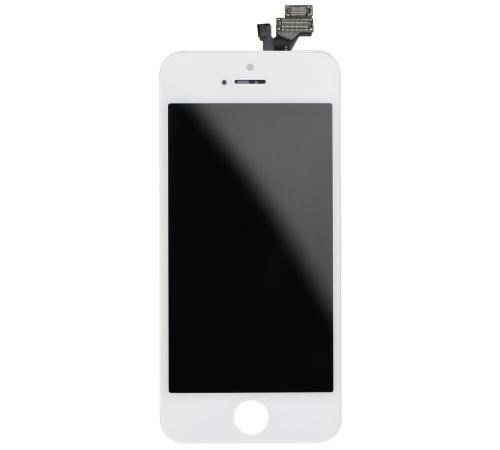 LCD + dotyková deska pro Apple iPhone 5 (High Quality AAA+), White