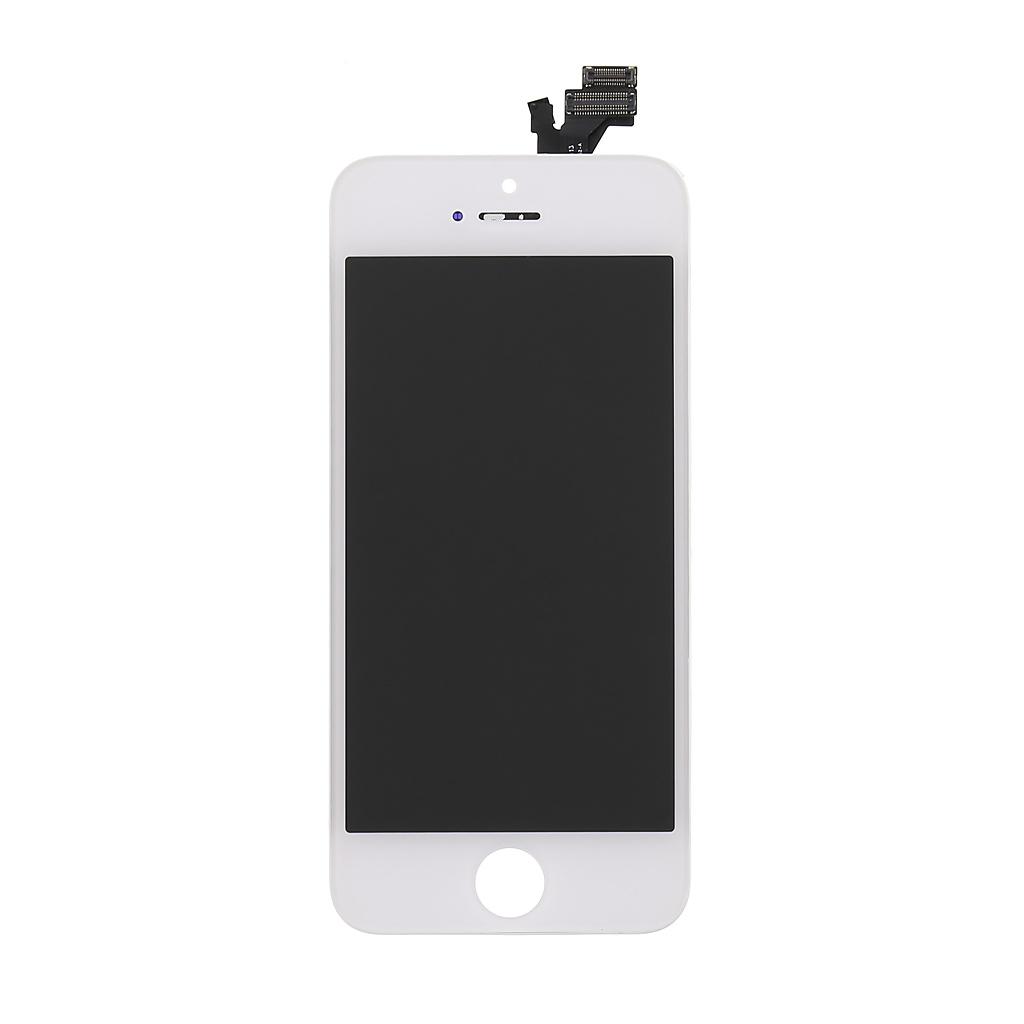 LCD + dotyková deska pro Apple iPhone 5 Class A white