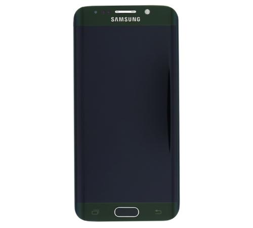 LCD + dotyk + př. kryt Samsung Galaxy S6 edge green