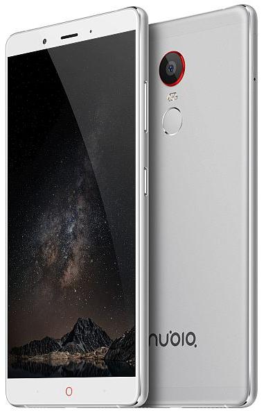 Mobilní telefon Nubia Z11 White/Silver