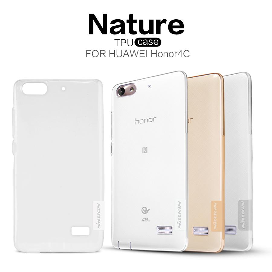 Nillkin Nature silikonové pouzdro pro Huawei Mate 10 Lite, Transparent