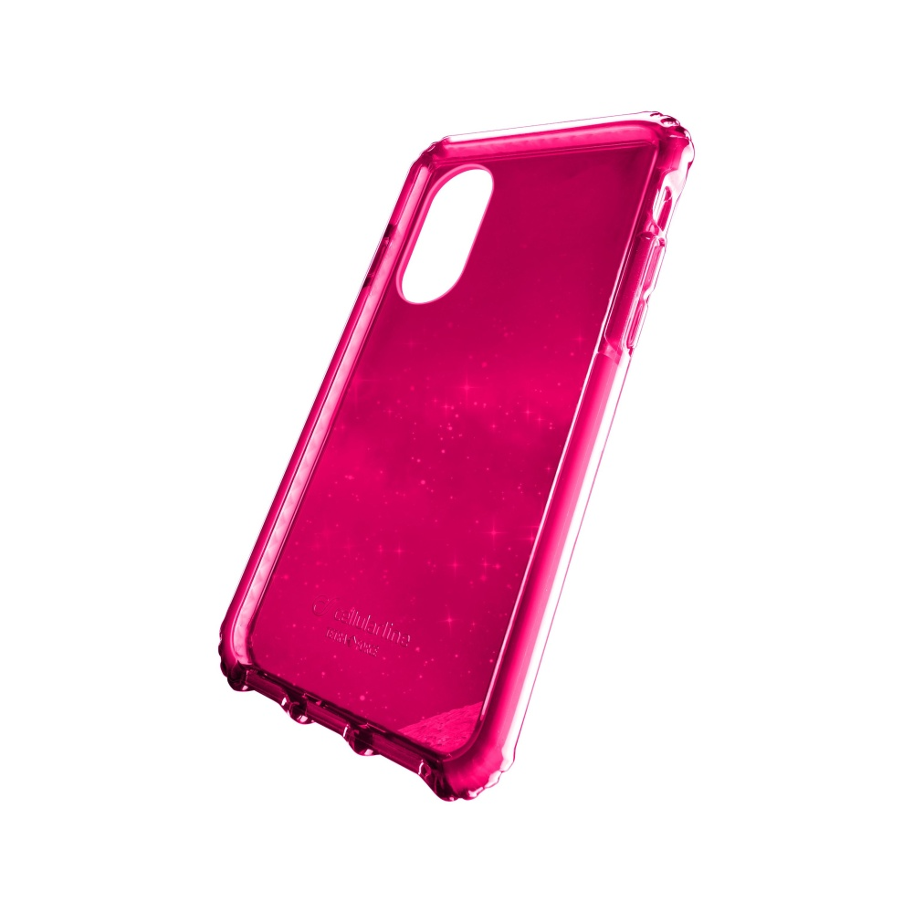 Cellularline Tetra Force Case Apple iPhone X, 2 stupně ochrany, fuchsiové