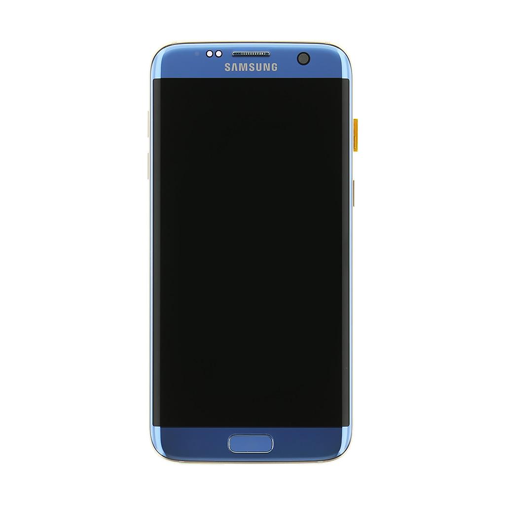 LCD + dotyková deska Samsung Galaxy S7 Edge, blue (service pack)
