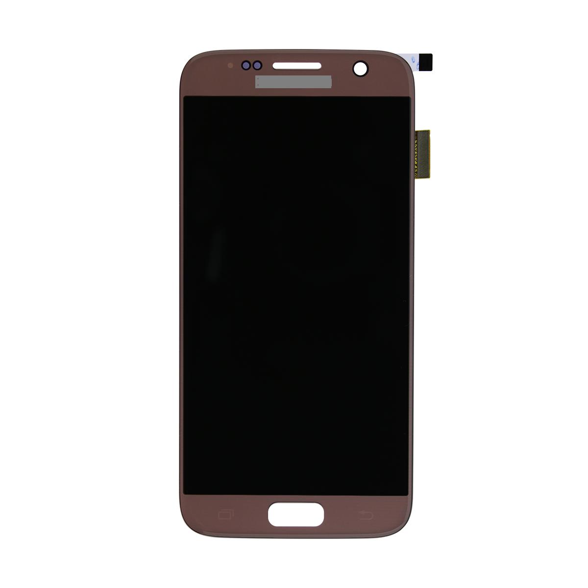 LCD + dotyková deska Samsung Samsung Galaxy S7, rose gold (service pack)