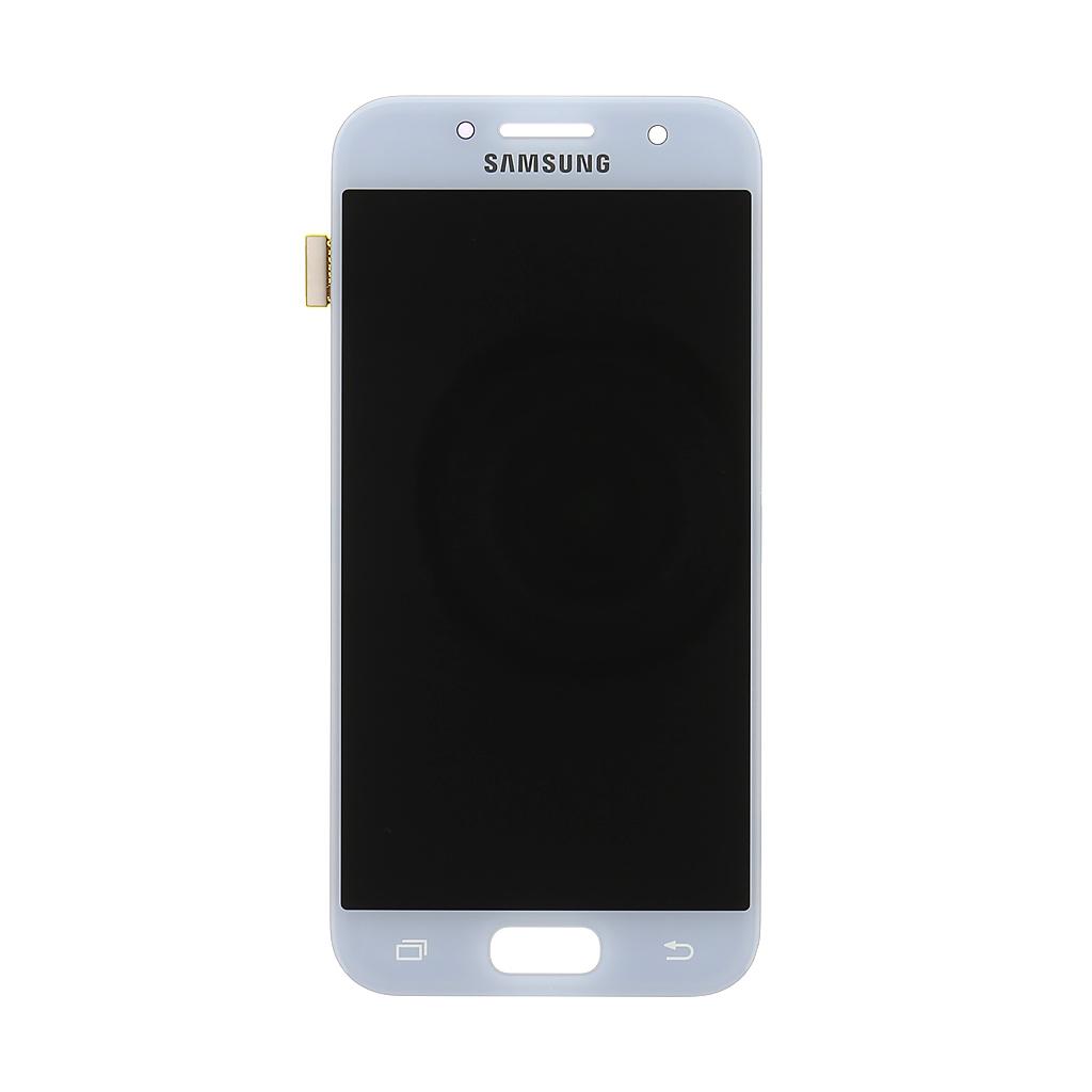 LCD + dotyková deska Samsung Galaxy A3 2017, blue (service pack)