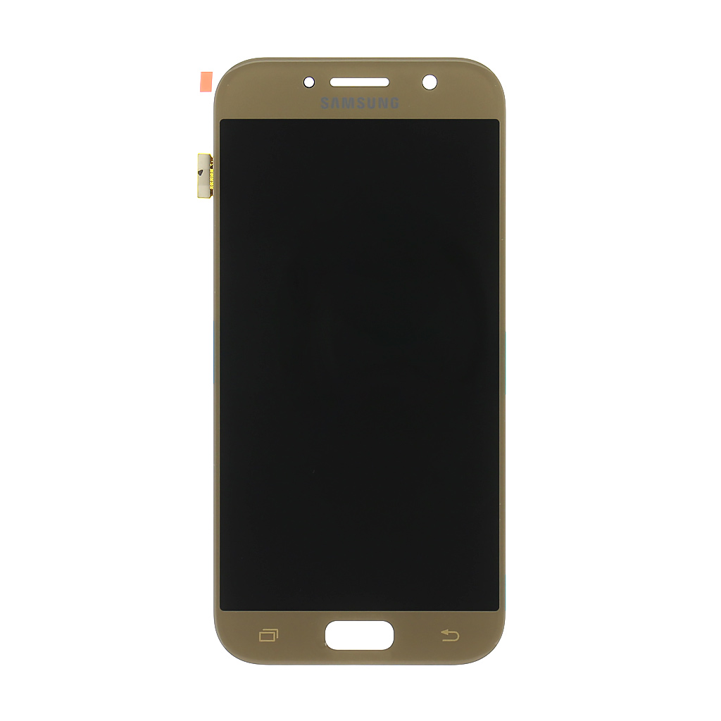 LCD + dotyková deska Samsung Galaxy A5 2017, gold (service pack)