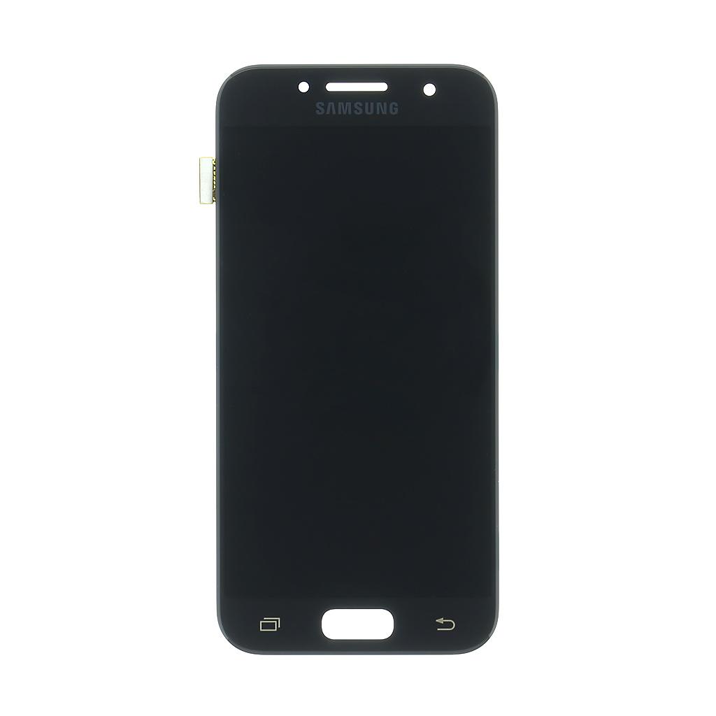 LCD + dotyková deska Samsung Galaxy A3 2017, black (service pack)
