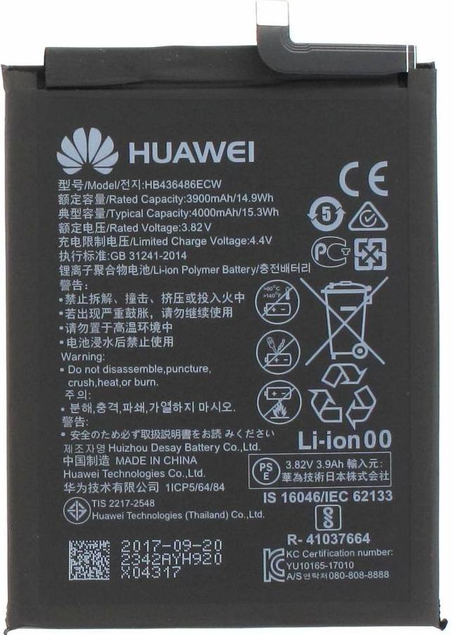 Baterie Huawi HB436486ECW 3900mAh Li-Pol