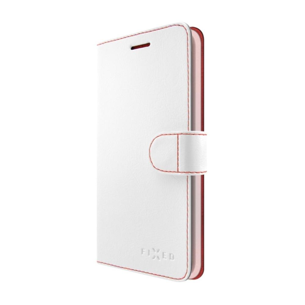 FIXED FIT flipové pouzdro pro Huawei Mate 10 Lite bílé