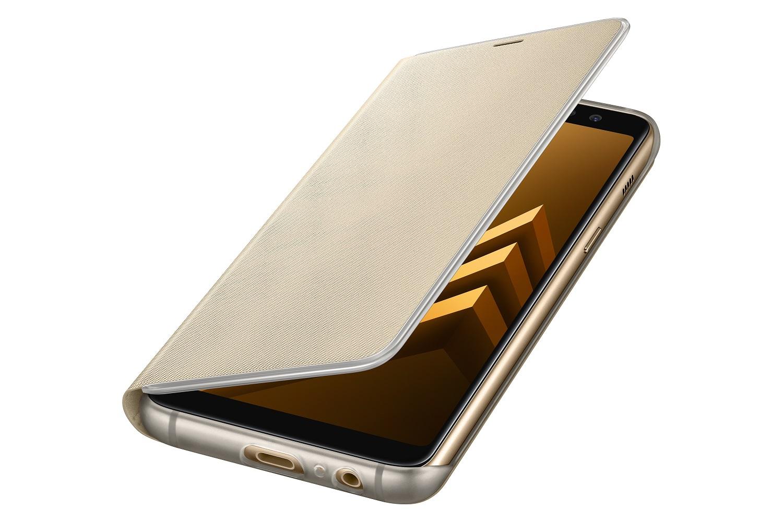 Samsung NEON pouzdro flip EF-FA530PFE Samsung Galaxy A8 2018 gold