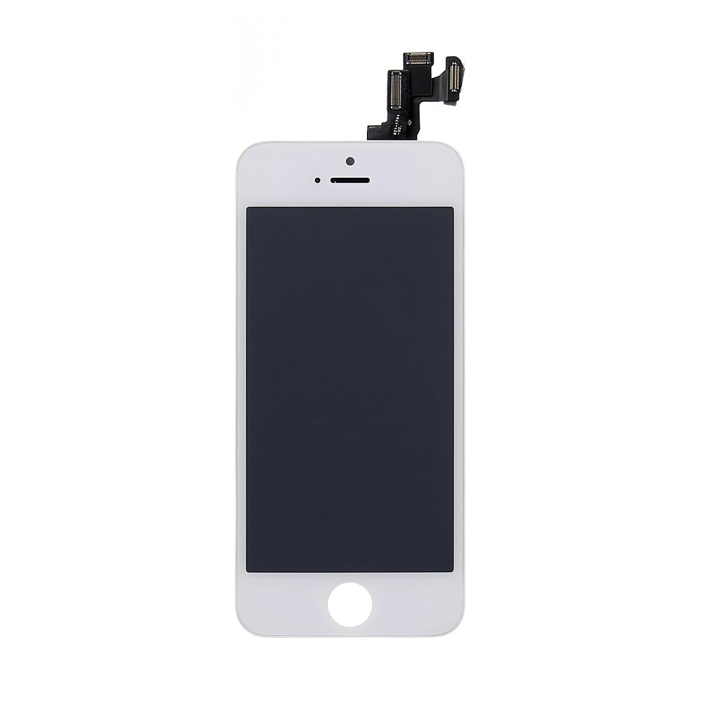 LCD + dotyková deska Apple iPhone 5S OEM, white vč. Small Parts