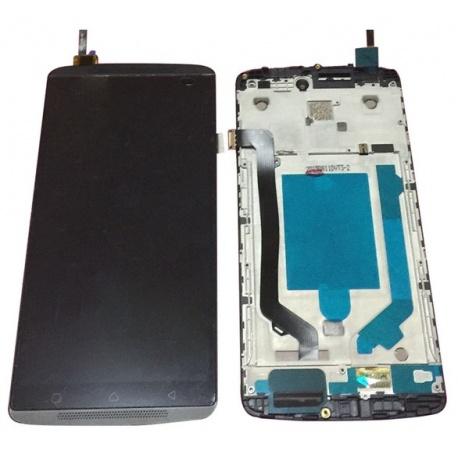 LCD + dotyk pro Lenovo A7010 + rámeček, black