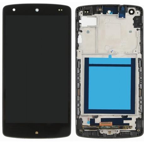 LCD + dotyk pro LG Nexus 5 + rámeček, black