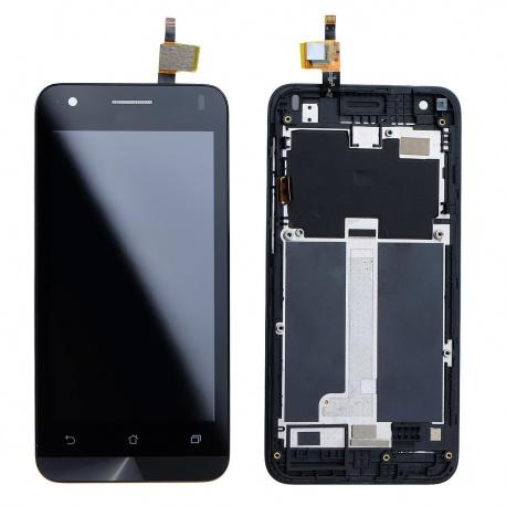 LCD + dotyk pro Asus Zenfone C + rámeček, black