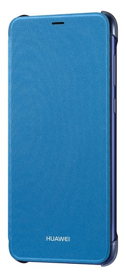 Huawei Original flipové pouzdro Huawei P Smart blue