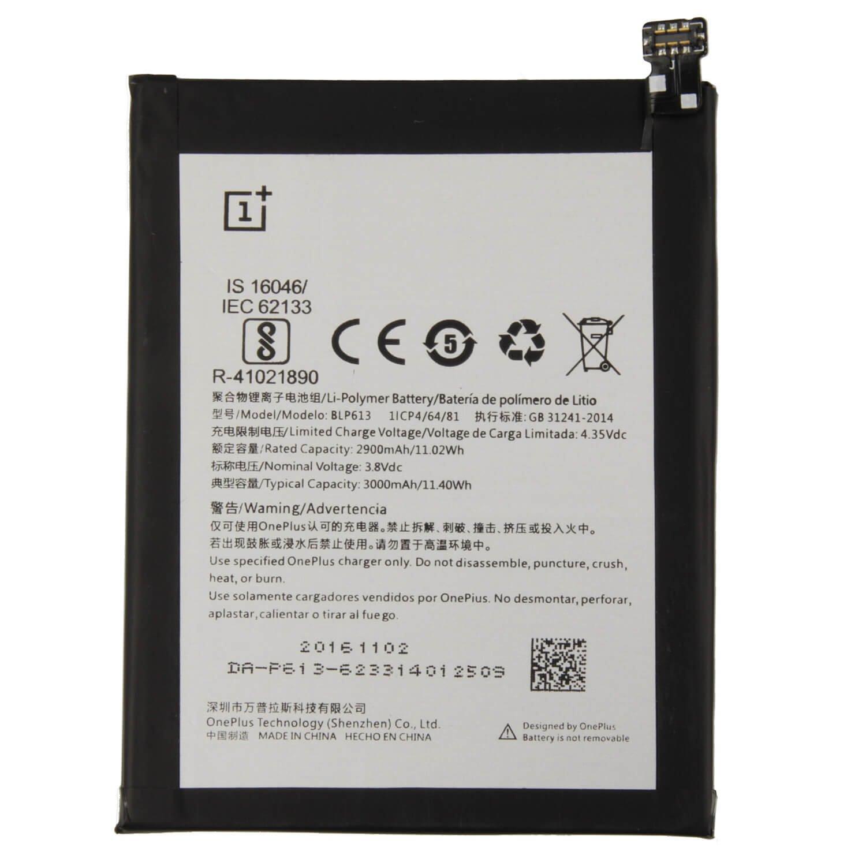 Baterie OnePlus BLP613 3000mAh Li-Pol