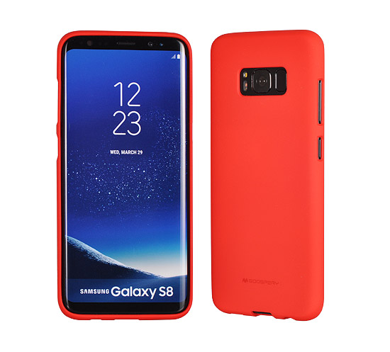 a381f940c Pouzdro Mercury Soft feeling Samsung Galaxy A5 2017, red