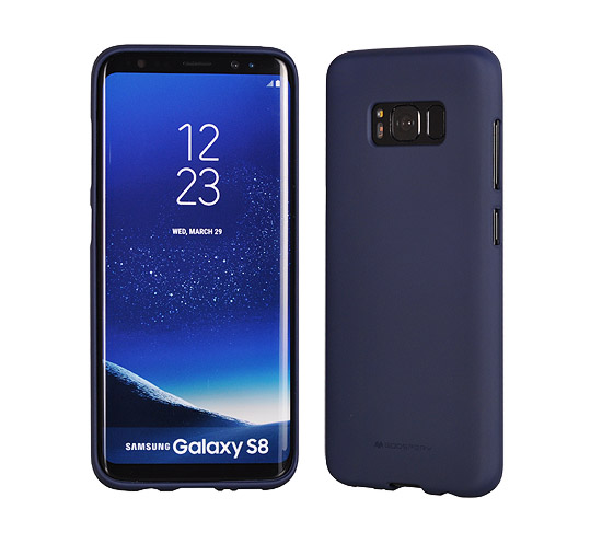 Pouzdro Mercury Soft feeling Huawei P10 Lite, blue