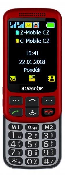 Aligator VS900 Silver/Red