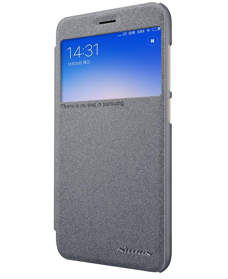 Nillkin Sparkle S-View pouzdro flip Xiaomi Redmi 5A black