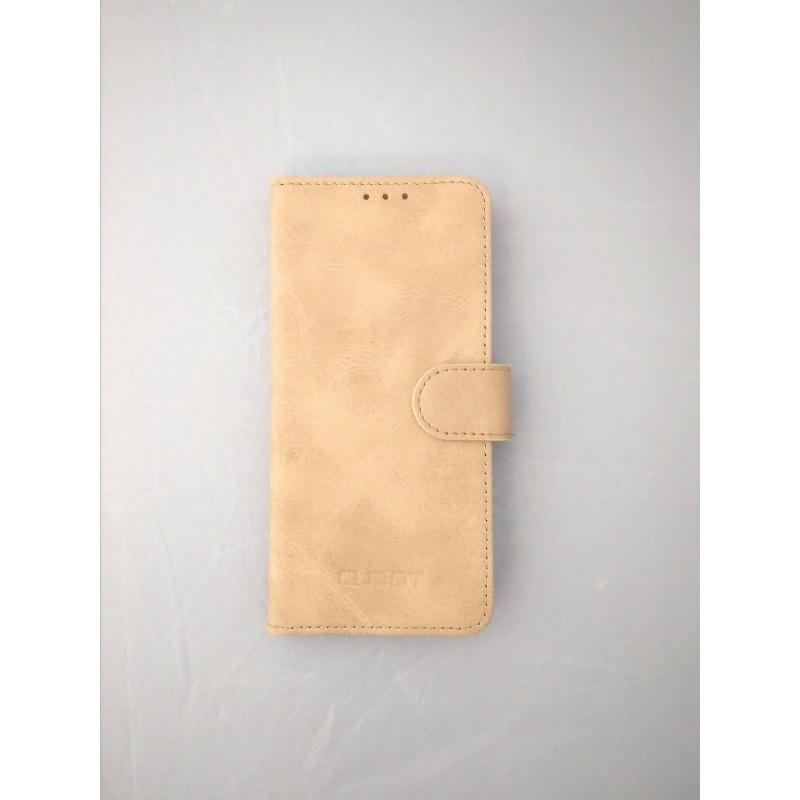 Originální flipové pouzdro CUBOT Note Plus light brown