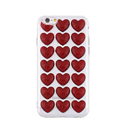 Pouzdro 3D pro Samsung Galaxy S8, red heart (Valentine)