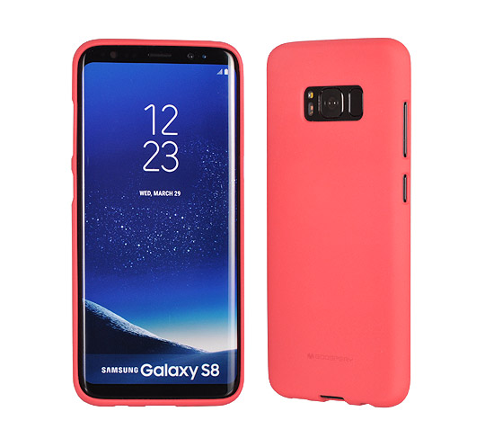 Pouzdro Mercury Soft feeling Samsung Galaxy S8, pink