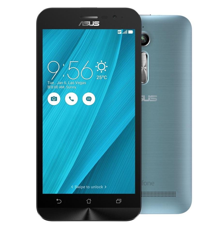 Mobilní telefon Asus ZenFone Go ZB500KG Silver