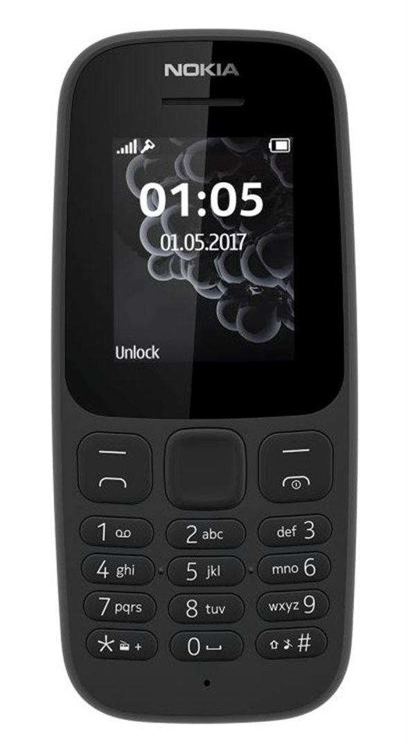Mobilní telefon Nokia 105 Dual Sim 2017 Black