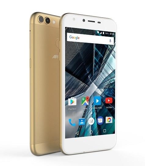 Mobilní telefon Archos Sense 55DC Gold