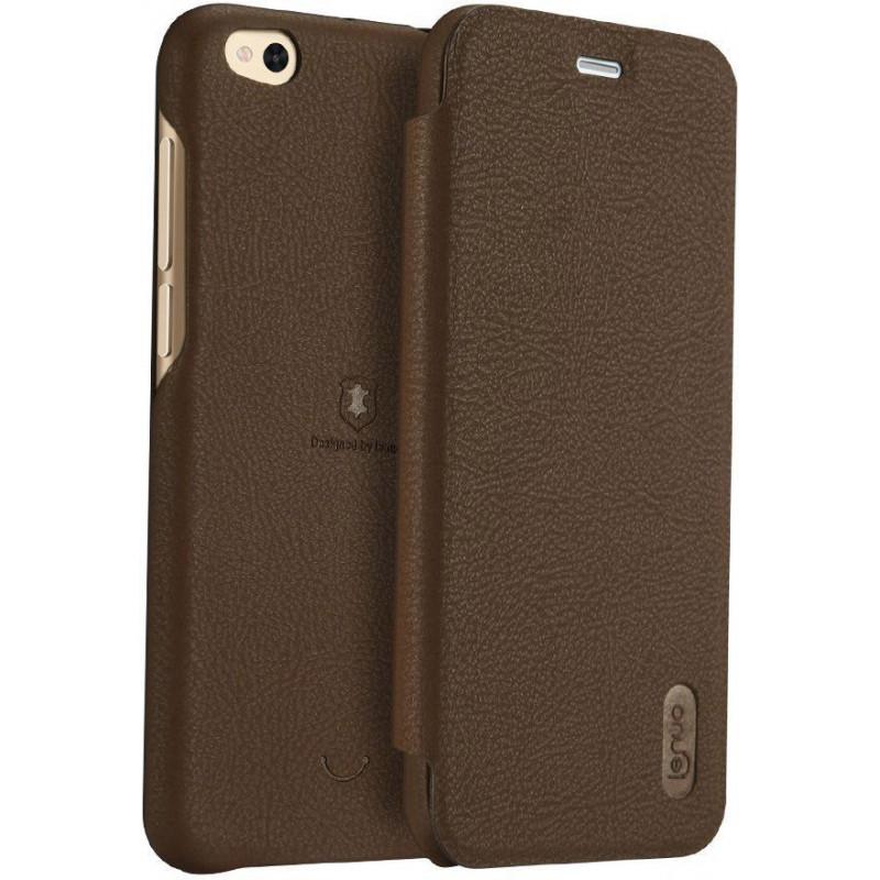 Lenuo Ledream pouzdro flip Xiaomi Redmi 5 Plus brown