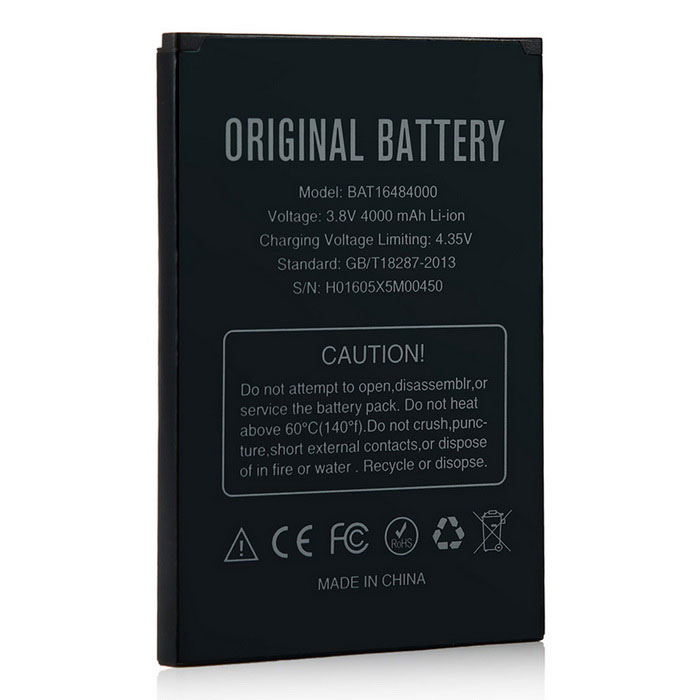 Baterie Doogee BAT16484000 4000mAh pro X5 MAX/X5 MAX Pro