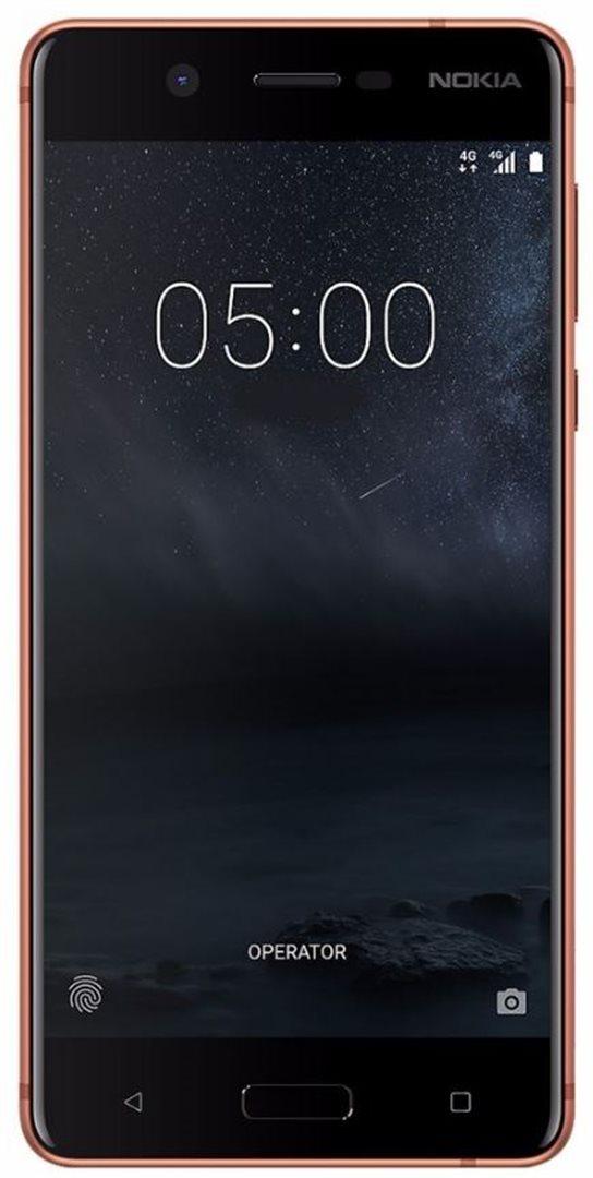 Mobilní telefon Nokia 5 Dual SIM Copper