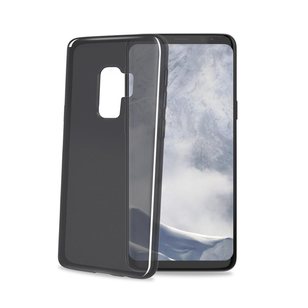CELLY Gelskin silikonové pouzdro pro Samsung Galaxy S9 Plus, černé