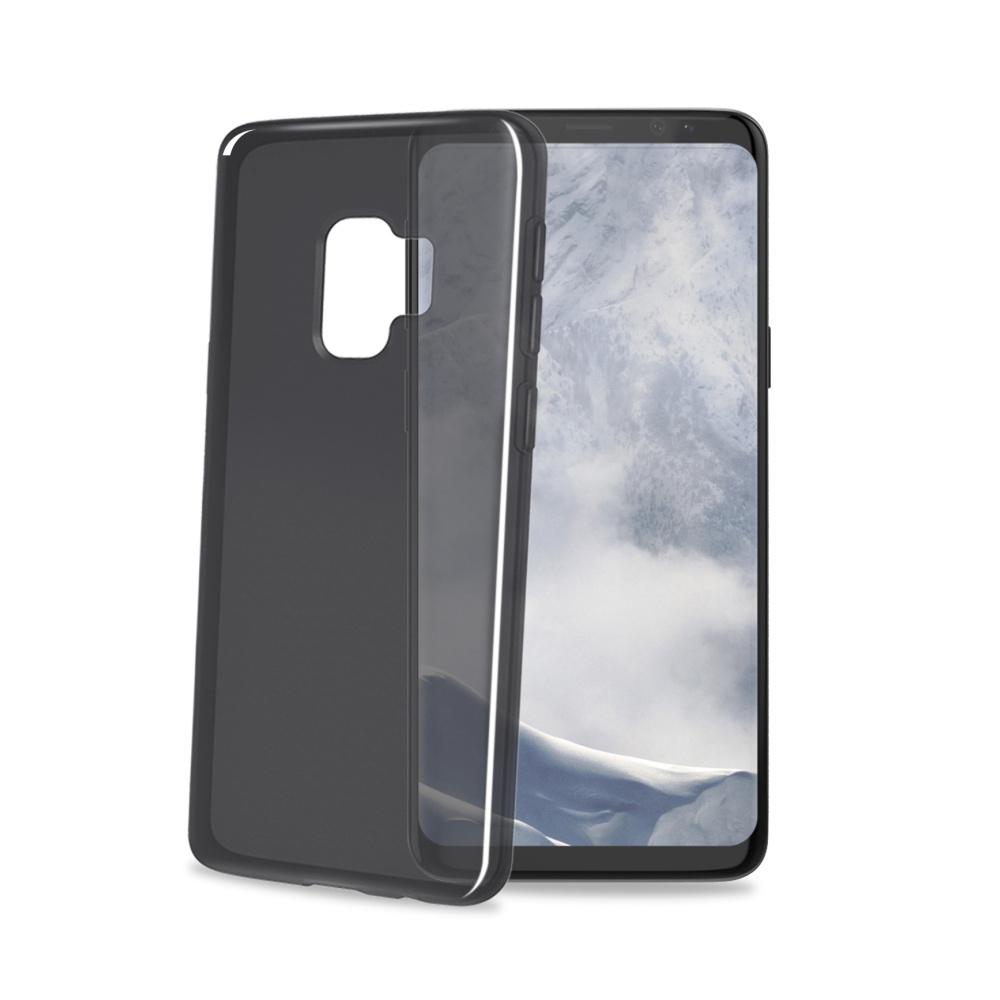 CELLY Gelskin silikonové pouzdro pro Samsung Galaxy S9, černé