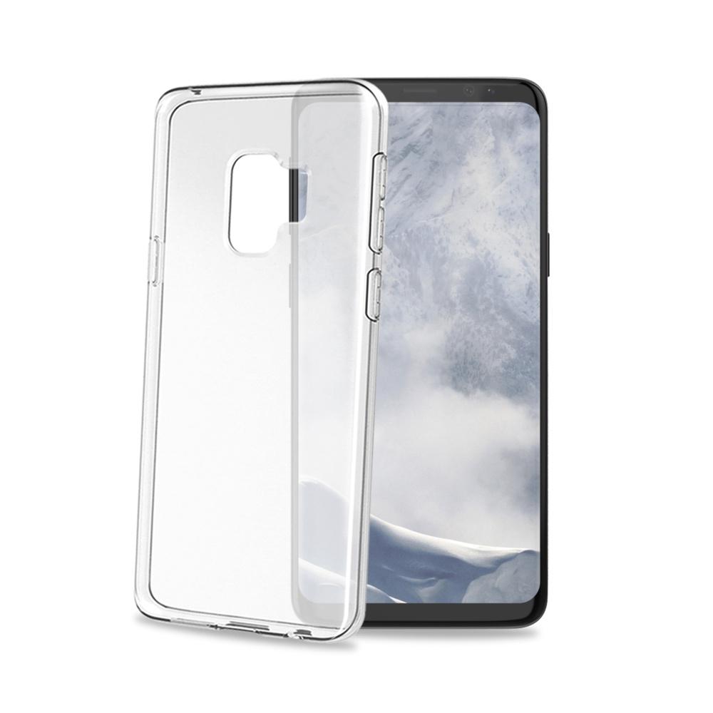 CELLY Gelskin silikonové pouzdro pro Samsung Galaxy S9, bezbarvé