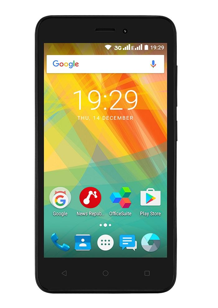 Mobilní telefon Prestigio Wize G3 Black
