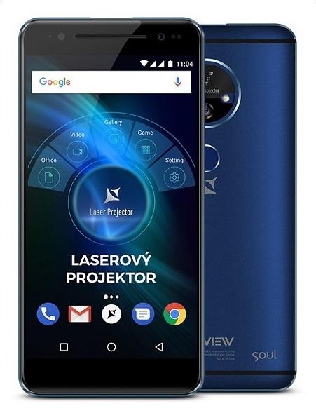 Mobilní telefon Allview X4 Soul Vision Dual SIM Blue