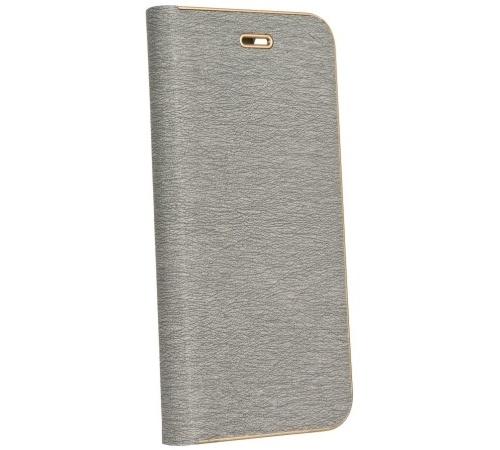 Forcell Luna Book flipové pouzdro Apple iPhone 6 silver